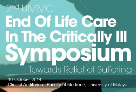 2nd UMMC Symposium on End of Life Care in the Critically Ill