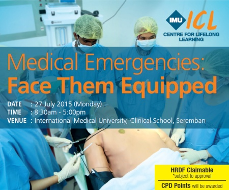 IMU-LEA Medical Emergencies: Face Them Equipped