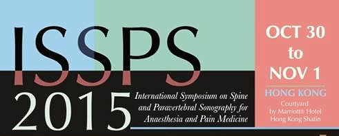 International Symposium on Spine and Paravertebral Sonography for Anaesthesia and Pain Medicine 2015
